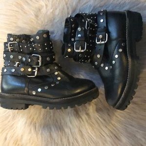 Kids Zara Leather Boots